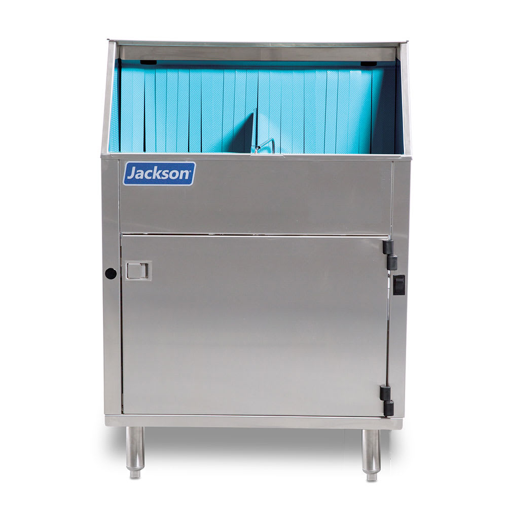 Jackson DELTA 1200 Low Temp Rotary Undercounter Glass Washer - (1200) Glasses/hr, 208 230v/1ph
