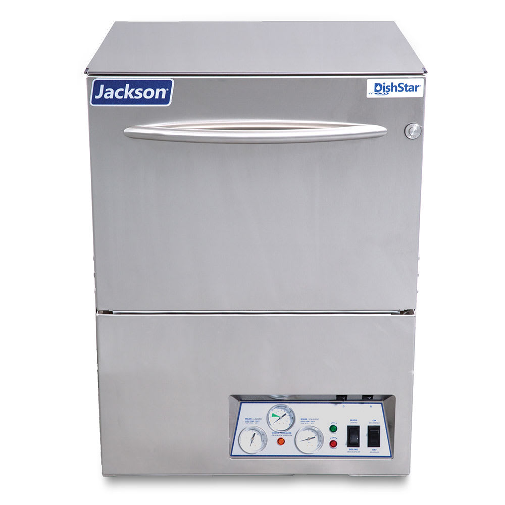 Jackson DISHSTAR HT High Temp Rack Undercounter Dishwasher w/ Built-In Booster & (24) Racks/hr, 230v/1ph