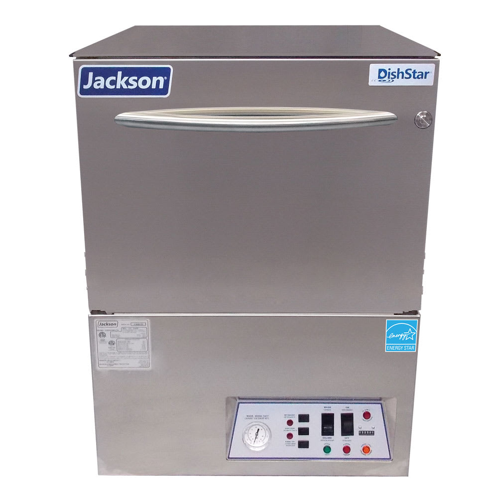 Jackson DISHSTARLT-H Low Temp Rack Undercounter Dishwasher - (24) Racks/hr, 115v