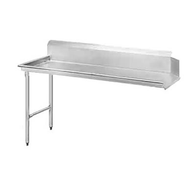 "Jackson DTCS7024L 24"" Straight Clean Dishtable w/ Left Side Installation"