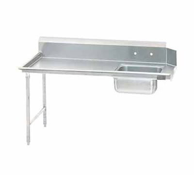 "Jackson DTS-S70-72L 72"" Straight Spoiled Dishtable, Left side Installation"