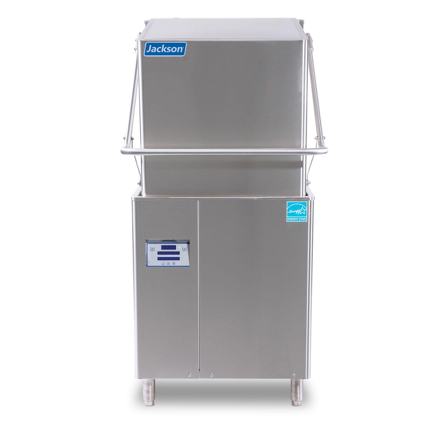 Jackson DYNATEMP High Temp Door-Type Dishwasher w/ Built-In Booster, 208v/1ph