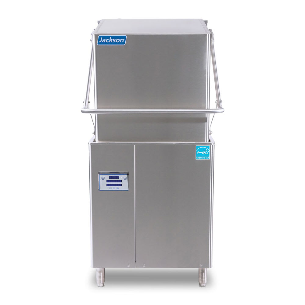 Jackson DYNATEMPVER High Temp Door-Type Dishwasher w/ Built-In Booster, 208v/3ph