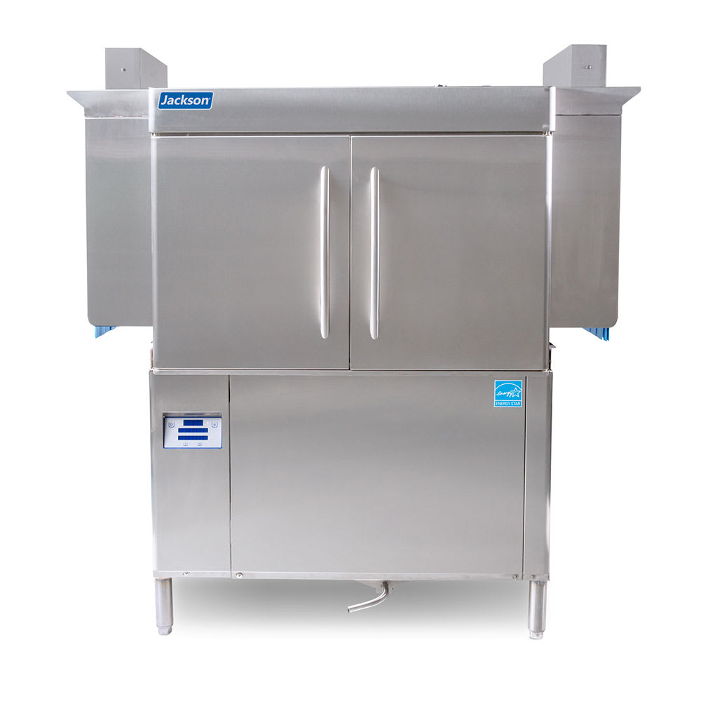 "Jackson RACKSTAR 44 64"" High Temp Conveyor Dishwasher w/ Electric Tank Heat, 208v/1ph"