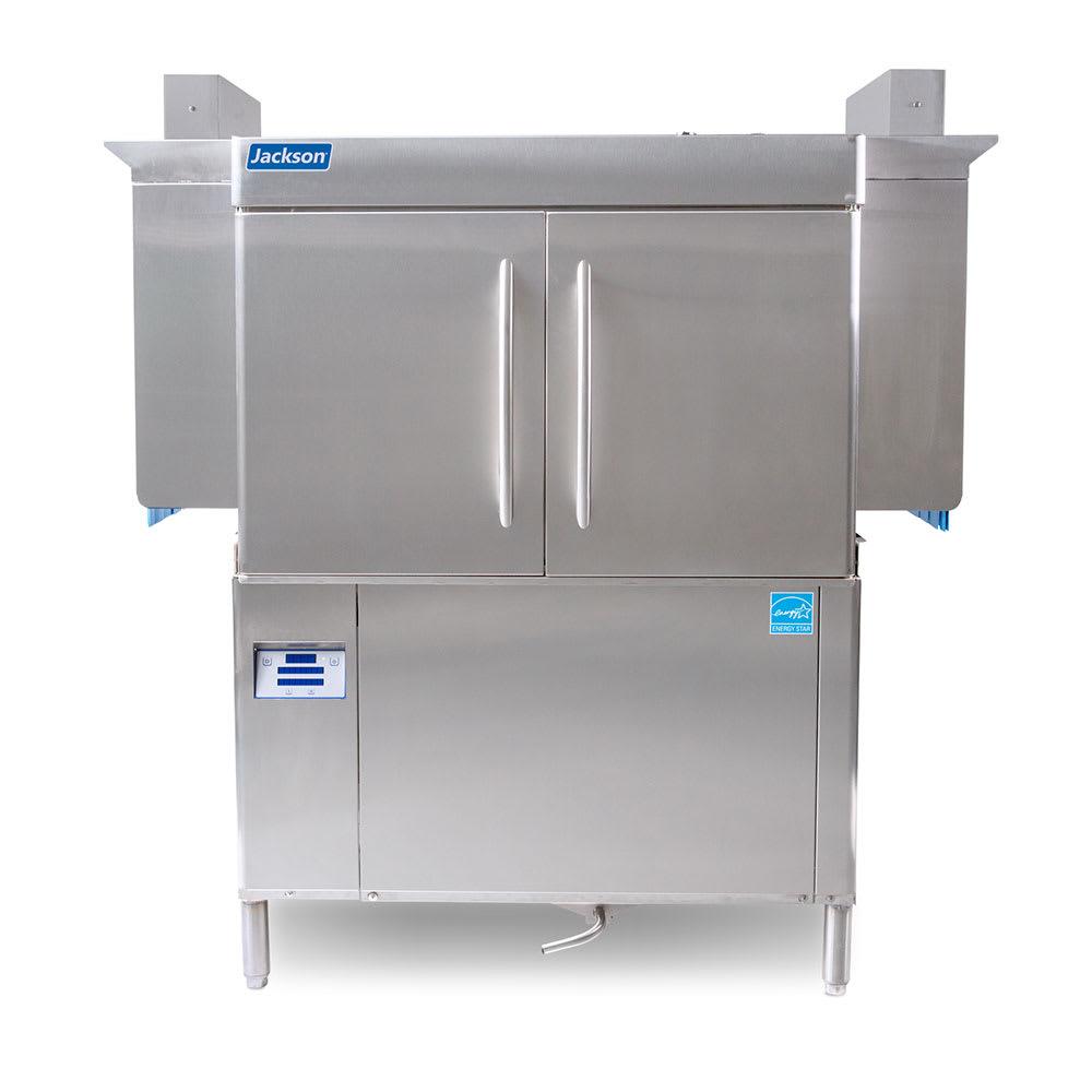"Jackson RACKSTAR 44 64"" High Temp Conveyor Dishwasher w/ Electric Tank Heat, 208v/3ph"