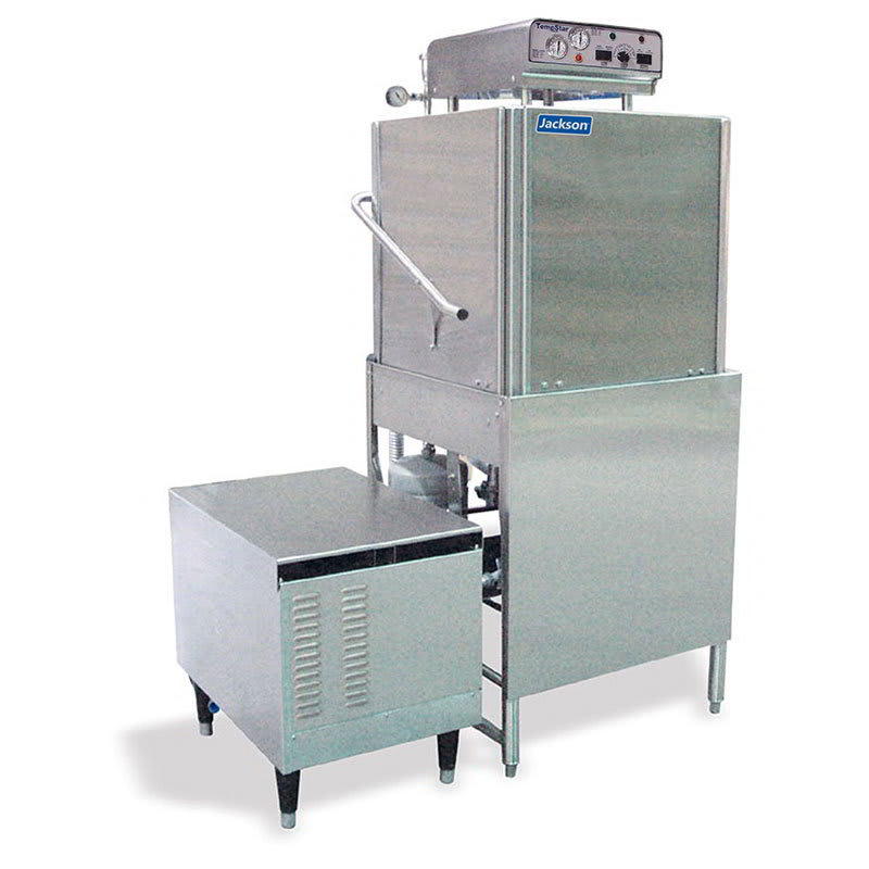 Jackson TEMPSTARGPX 1151 High Temperature Door Type Dishwasher 57-Racks/Hour, Exterior Gas Booster, 115V