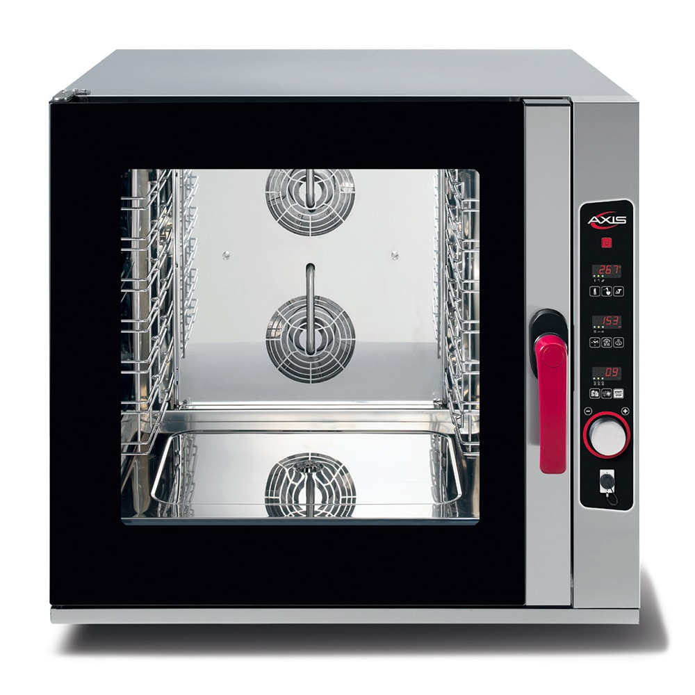 Axis AX-CL06D Full-Size Combi Oven, Boilerless, 208 240v/60/1ph