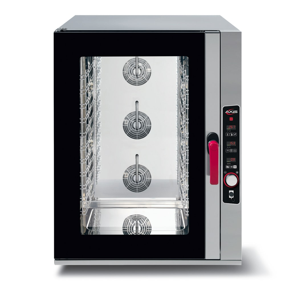 Axis AX-CL10D Full-Size Combi Oven, Boilerless, 208 240v/60/1ph