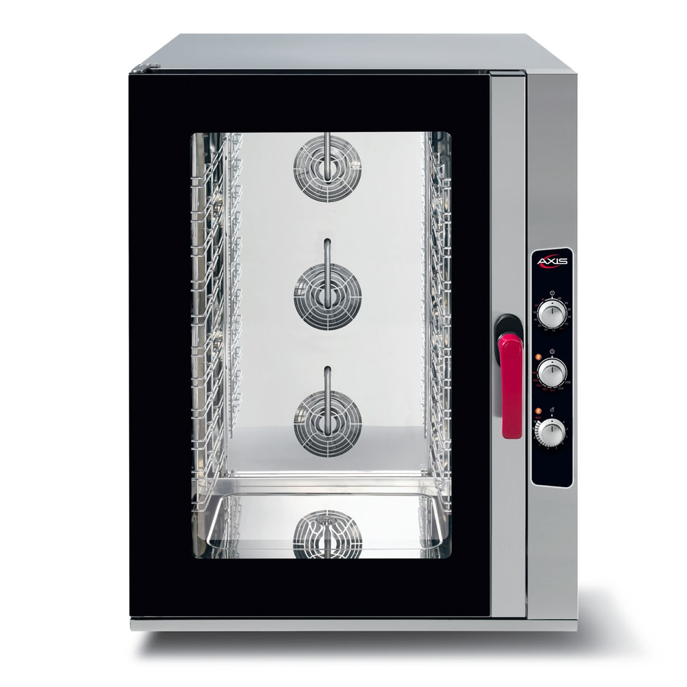 Axis AX-CL10M Full-Size Combi Oven, Boilerless, 208 240v/60/1ph