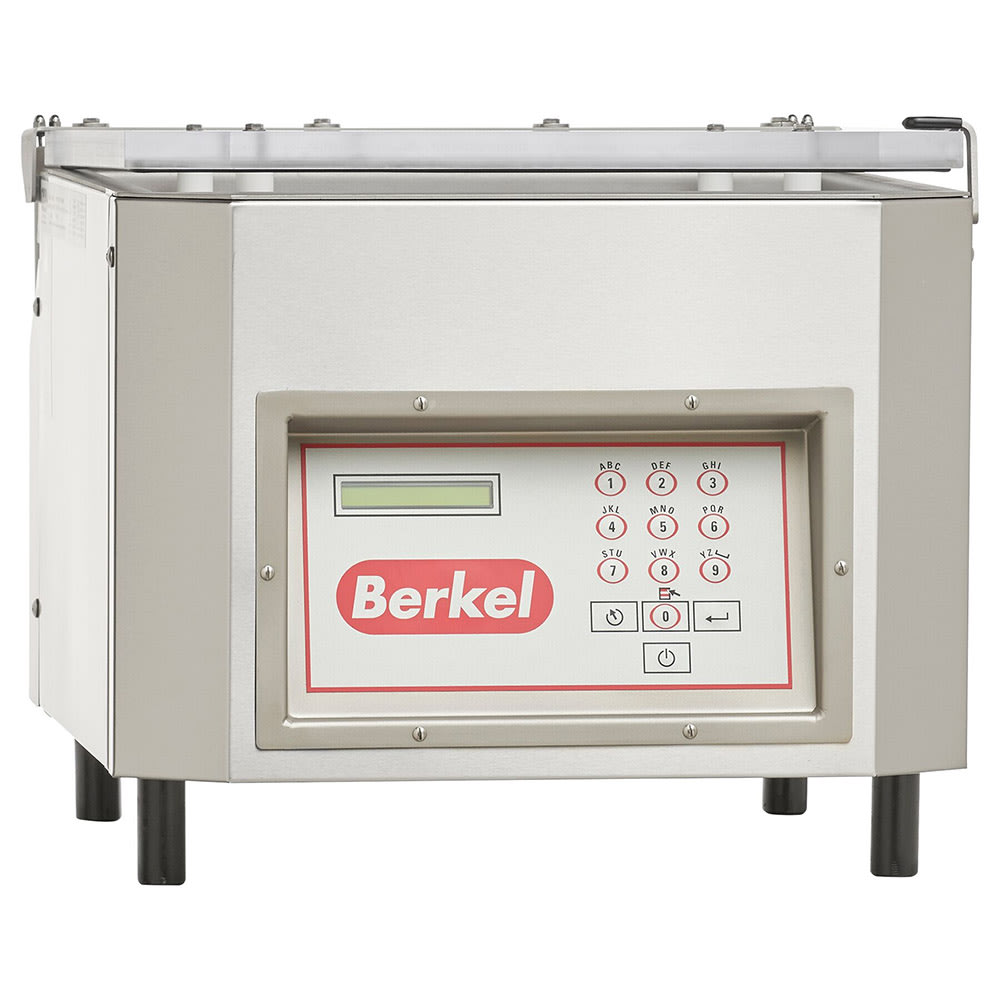 "Berkel 350D-STD Vacuum Packaging Machine w/ 21 CMH Busch Pump & 6"" Cord, 18x18x6.5"", 115v"