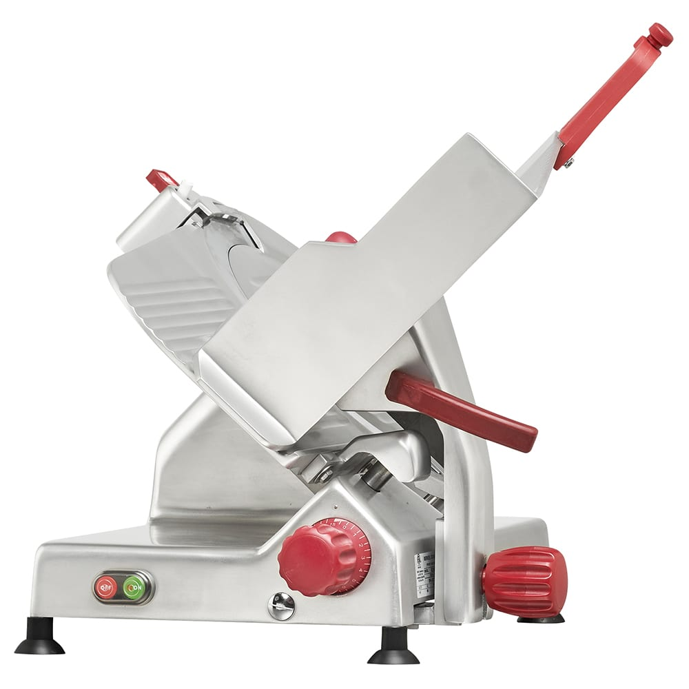 "Berkel 829E-PLUS 14"" Round Manual Slicer w/ Angled Gravity Feed & Knife Guard, Sharpener, 115v"