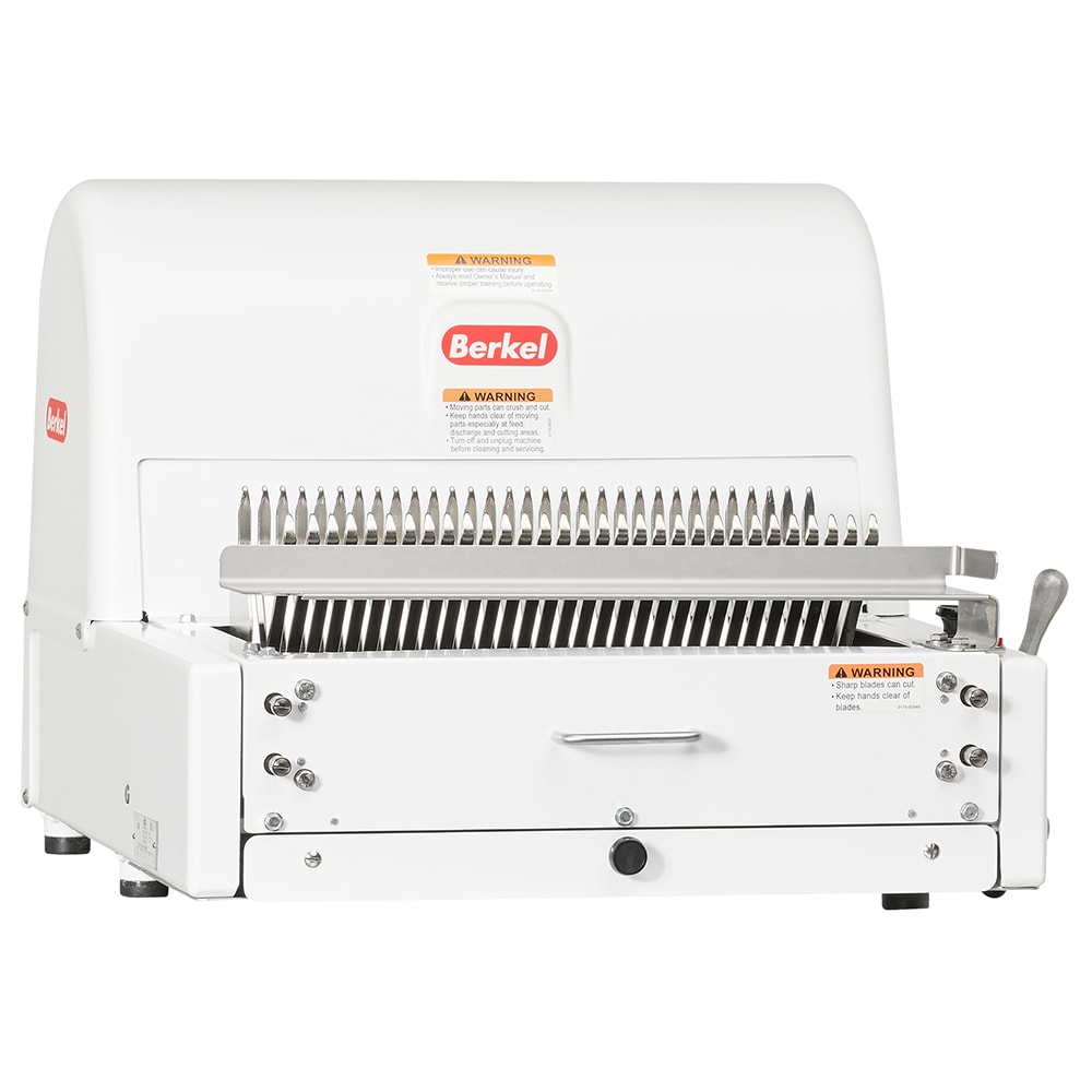 "Berkel MB1/2STD Bread Slicer, 1/2"" Slice Thickness, Painted White, 115v"