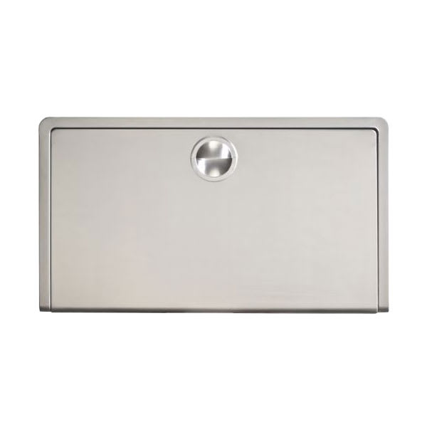 Koala Kare KB110-SSWM Horizontal Wall-Mounted Changing Station - Polyethylene, Gray