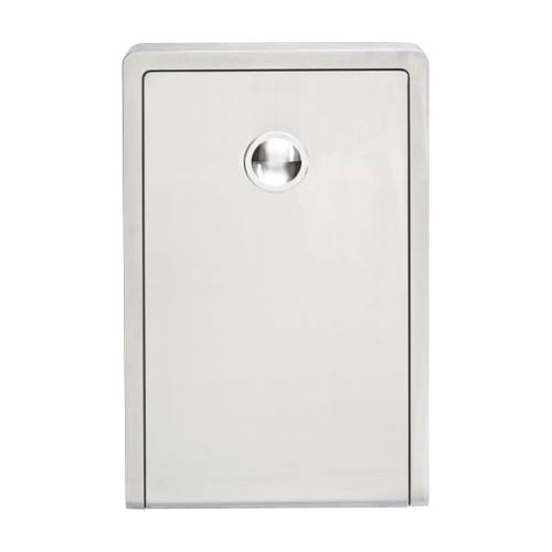 Koala Kare KB111-SSWM Vertical Wall-Mounted Changing Station - Polyethylene, Gray
