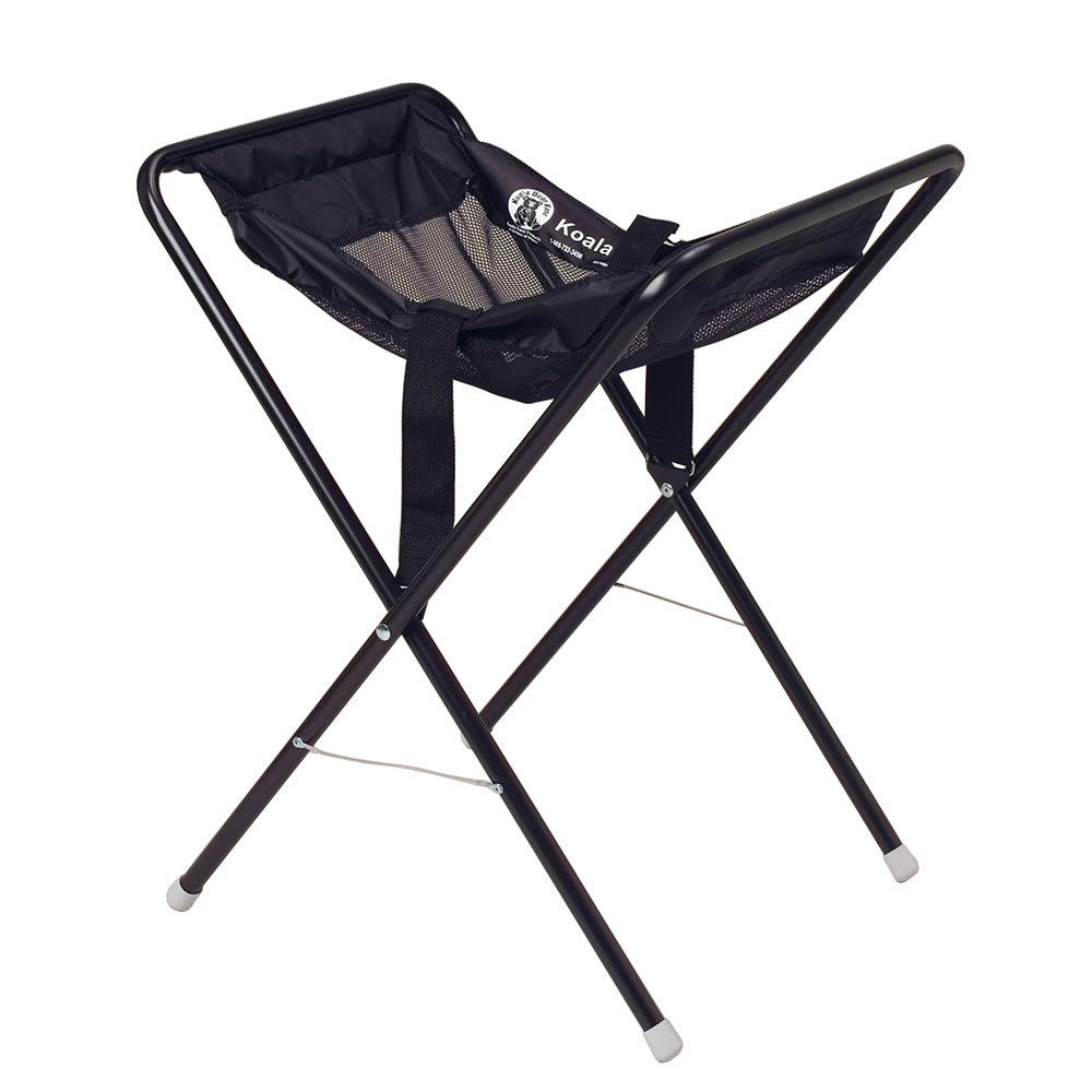 "Koala Kare KB115-02 30"" Folding Infant Seat Carrier w/ Safety Strap - Steel, Black"