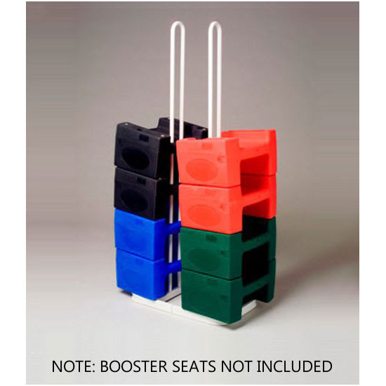Koala Kare KB119-SM Booster Buddy Stand for (10) Booster Seats - Metal, White