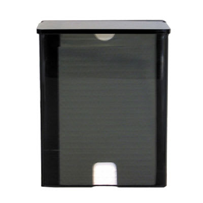 Koala Kare KB134-PLLD Wall-Mounted Sanitary Liner Dispenser w/ 20-Liner Capacity - Plastic, Black