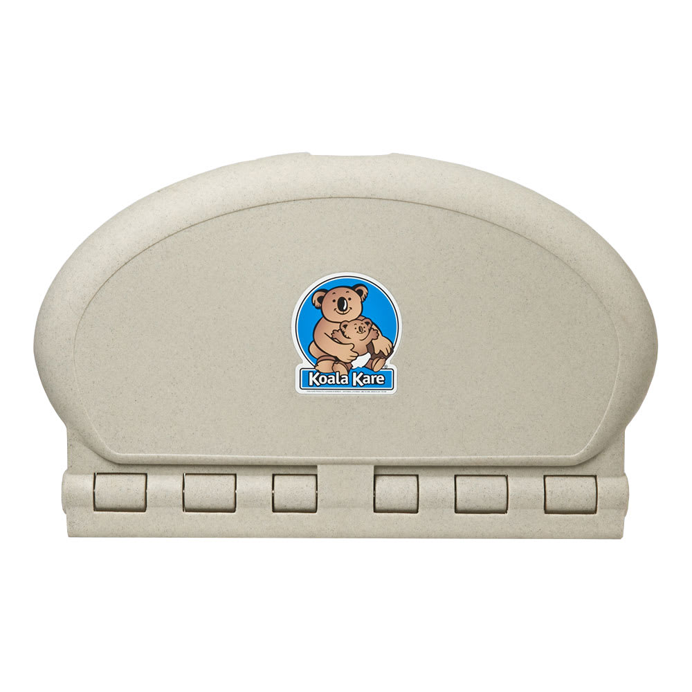 Koala Kare KB208-14 Horizontal Wall-Mounted Changing Station - Polypropylene, Sandstone