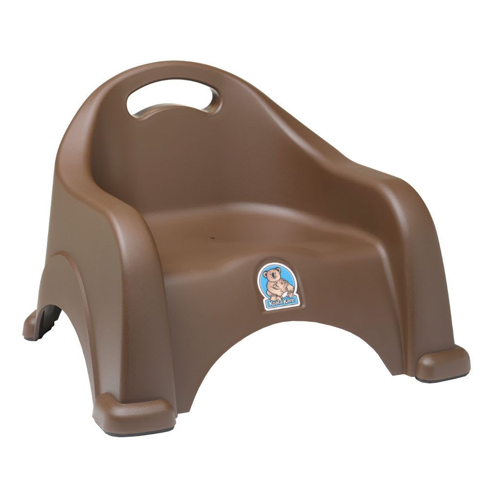 Koala Kare KB327-09 Single-Height Booster Seat w/ Safety Strap - Polypropylene, Brown