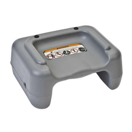 Koala Kare KB854-01 Dual-Height Booster Seat - Plastic, Dark Gray