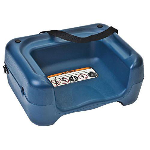 Koala Kare KB854-04S Dual-Height Booster Seat w/ Waist Strap - Plastic, Blue