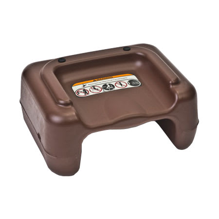Koala Kare KB854-09 Dual-Height Booster Seat - Plastic, Brown