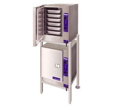 Cleveland (2) 22CET66.1 Electric Floor Model Steamer w/ (12) Full Size Pan Capacity, 240v/3ph