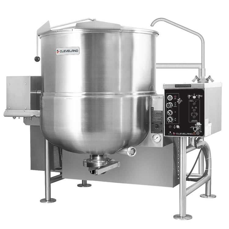 Cleveland HAMKGL100T 100 Gallon Tilting Mixer Kettle w/ Horizontal Agitator, NG