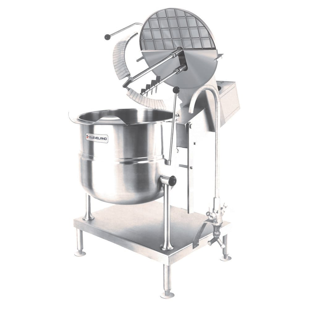 Cleveland MKDT20T120 Direct Kettle Mixer w/ 20 gal Capacity & Variable Speed, Stainless
