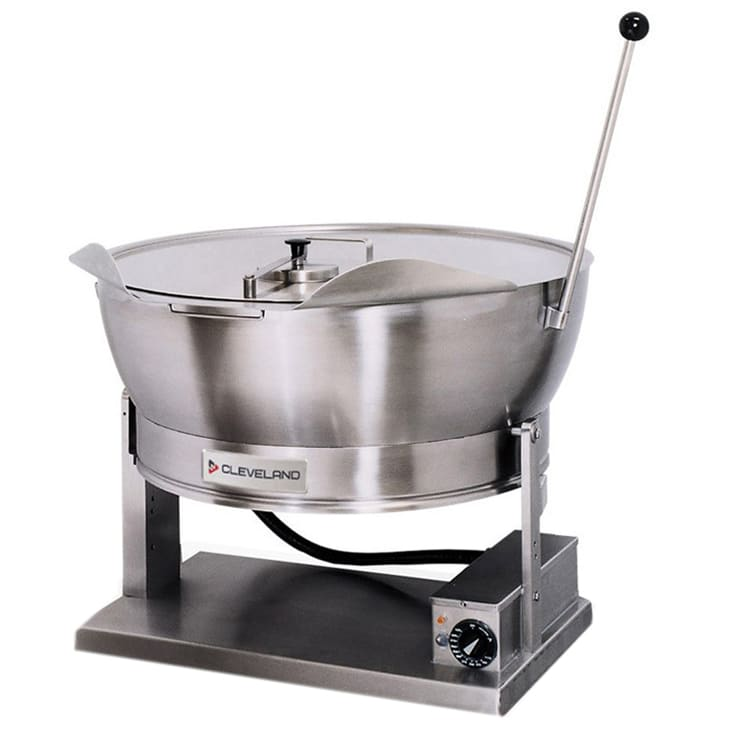 Cleveland SET15 15 gal Countertop Tilting Skillet, Rectangular Pan w/ Sloped Sides, 240v/1ph