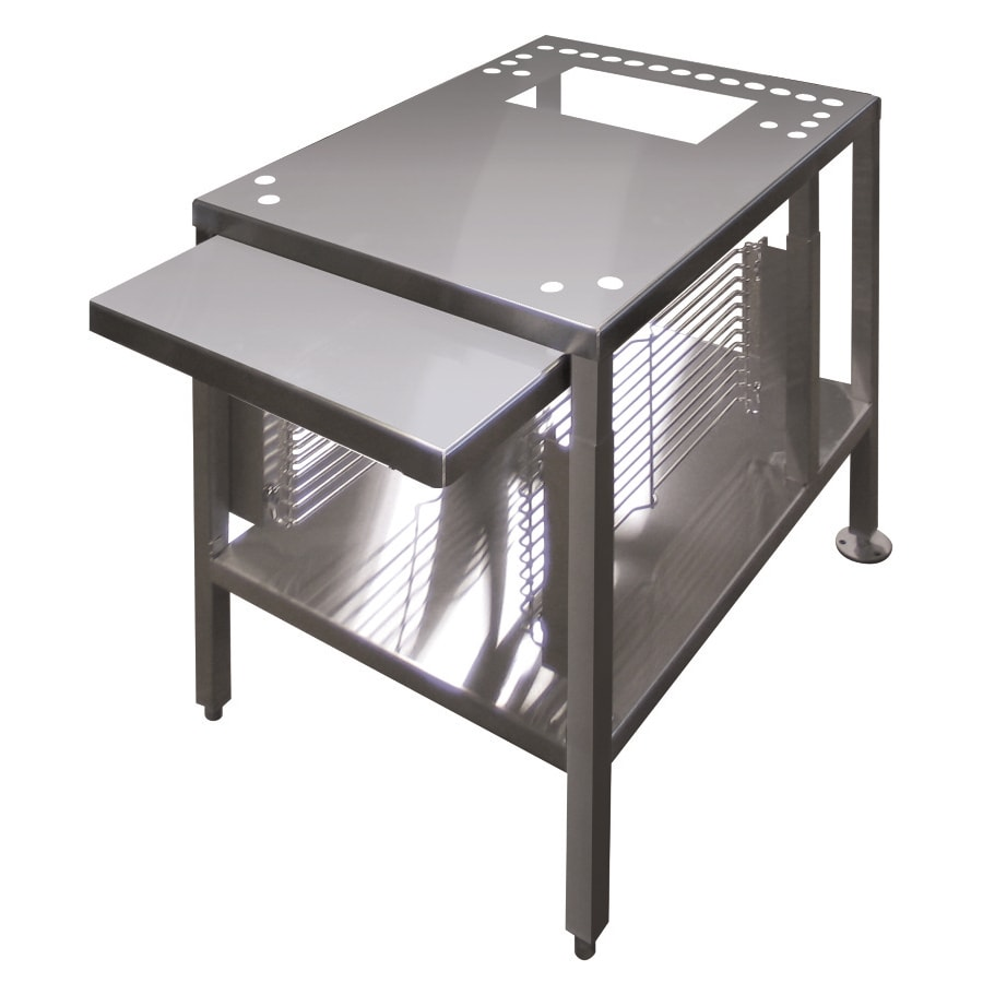 """Cleveland UNISTAND34 22"""" x 28"""" Stationary Equipment Stand for Countertop Steamers, Undershelf"""