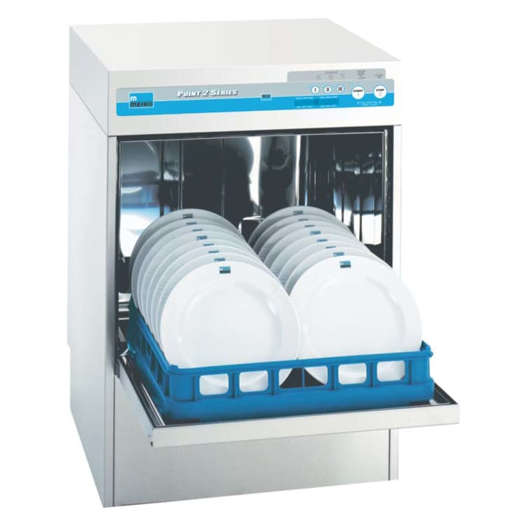 Meiko FV 40.2 High Temp Rack Undercounter Dishwasher w/ Built-In Booster & (37) Racks/hr, 208 230v/1ph