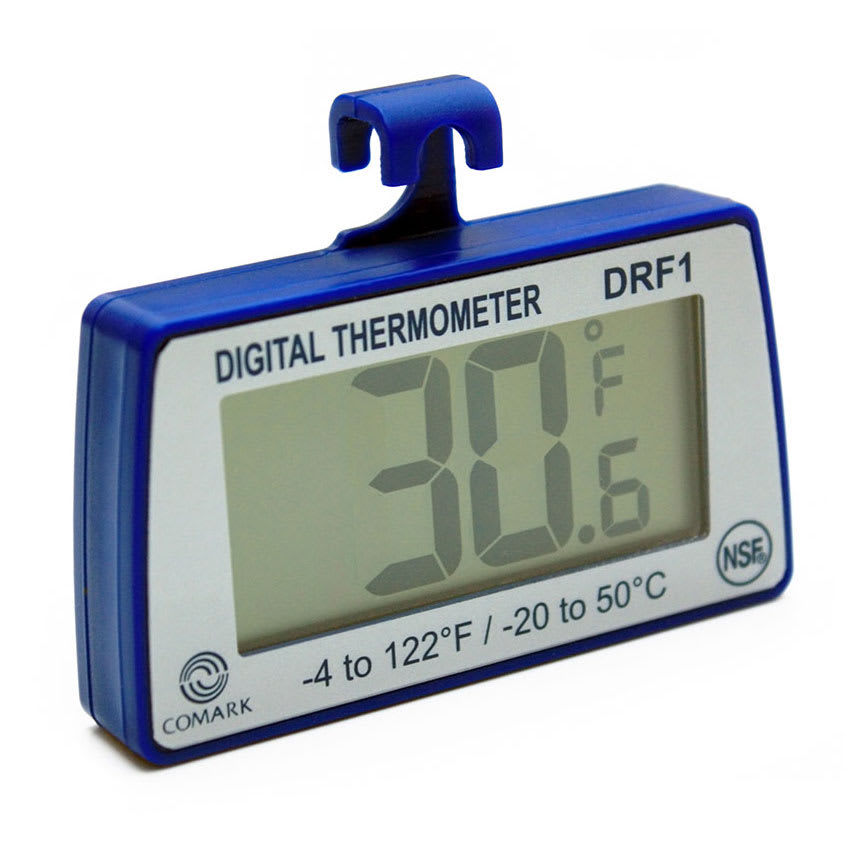 Comark DRF1 Digital Refrigerator/Freezer Thermometer, -4 to 122 Degrees F