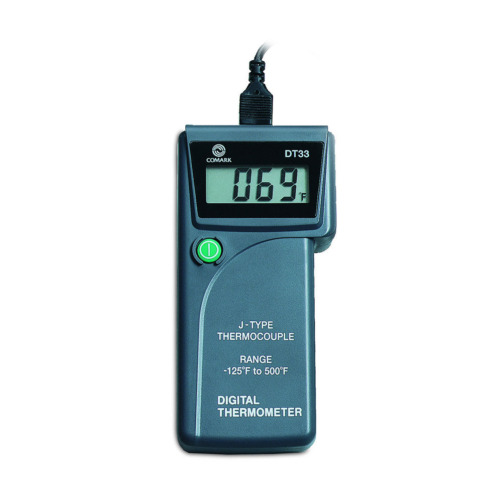 Comark DT33 Hand Held Digital Type J Digital Thermometer