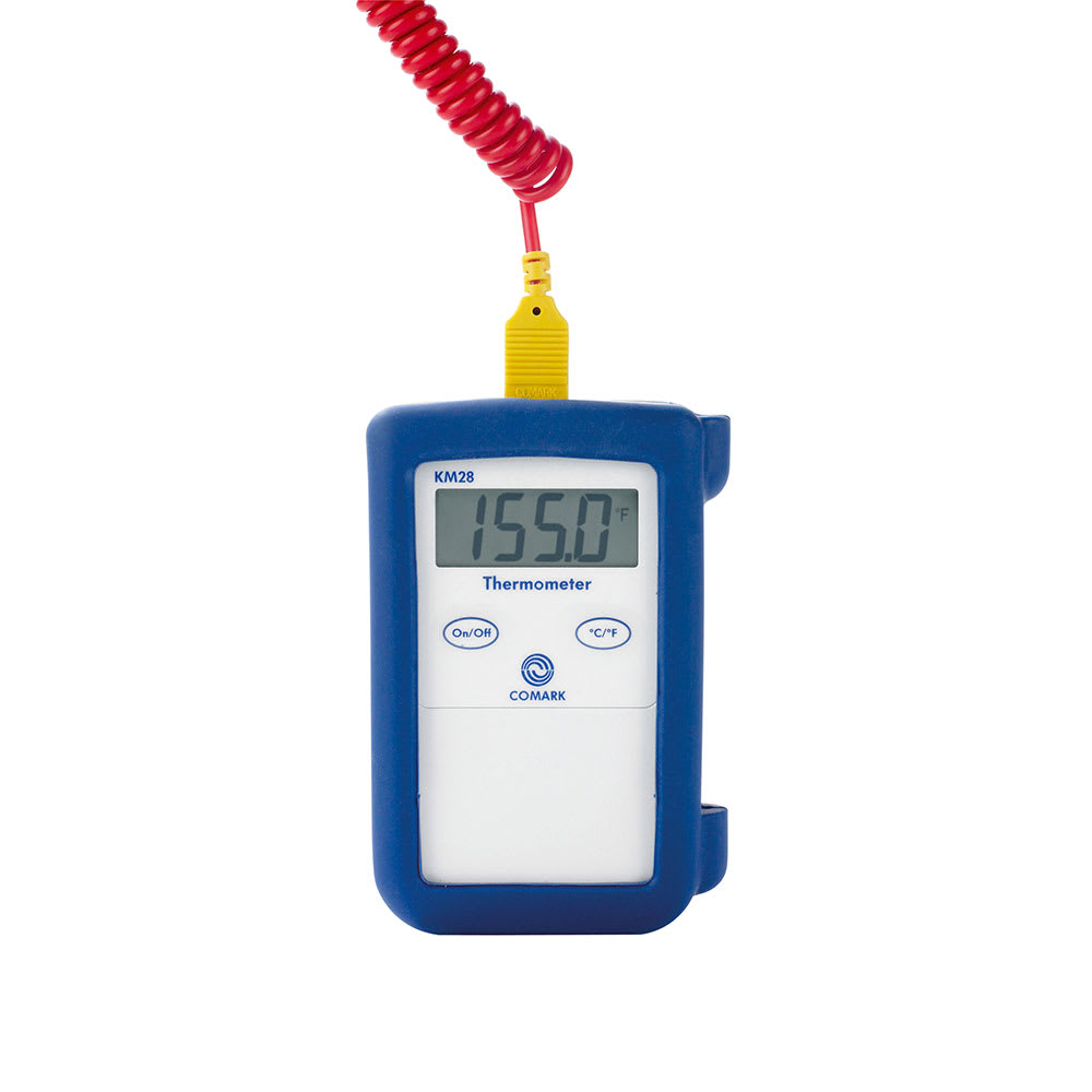 Comark KM28B Digital Hand-Held Thermocouple Temperature Tester, Type K