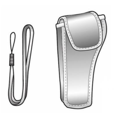 Comark RAYMTAPK Mini-Temp Accessory Kit w/ Wrist Wrap & Pouch