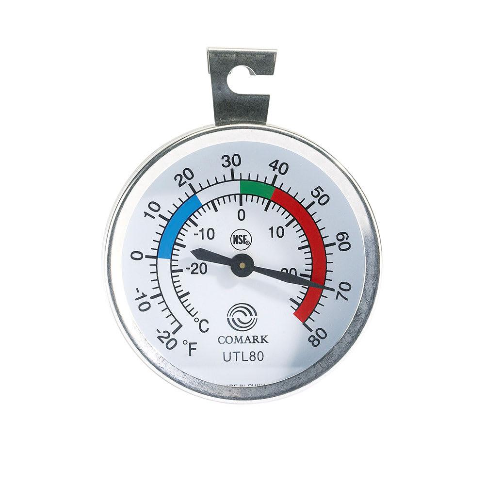 Comark UTL80 Refrigerator Freezer Thermometer, HACCP Zones