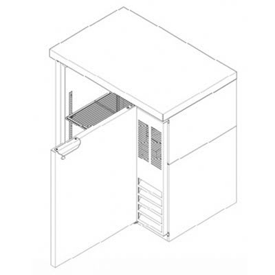 "Beverage Air BB36F-1-B-27 36"" (1) Section Bar Refrigerator - Swinging Solid Door, 115v"