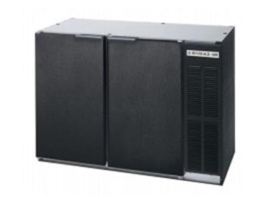 "Beverage Air BB72Y-1-B-PT 72"" (3) Section Bar Refrigerator - Swinging Solid Doors, 115v"