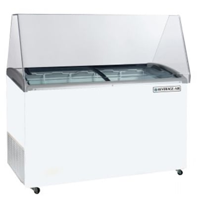 "Beverage Air BDC-12 69.1"" Stand Alone Ice Cream Freezer w/ 22-Tub Capacity, 115v"