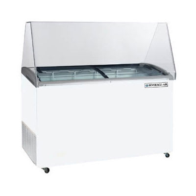 "Beverage Air BDC-HC-12 69"" Mobile Ice Cream Freezer w/ 2 Baskets, 115v"