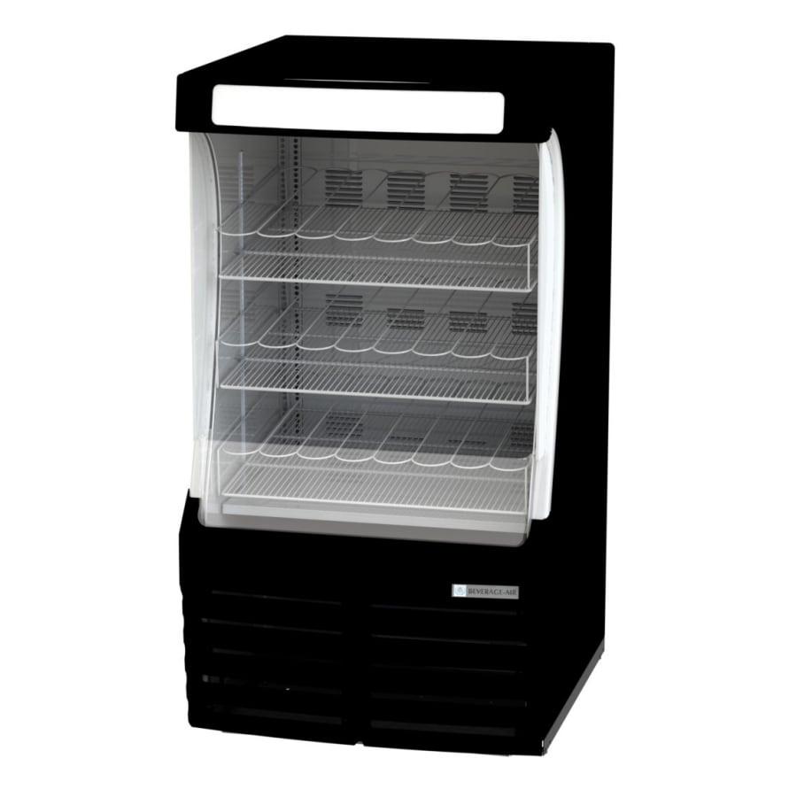 "Beverage Air BZ13-1-B 30"" Vertical Open Air Cooler w/ (3) Levels, 115v"