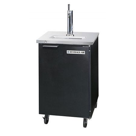 "Beverage Air DD36-1-S 36"" Draft Beer System w/ (1/2) Keg Capacity - (1) Column, Stainless, 115v"