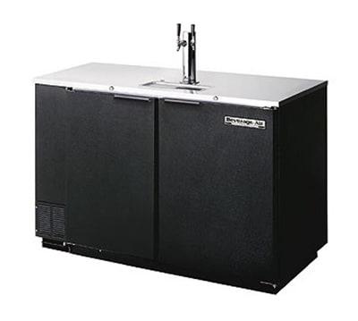 "Beverage Air DD50C-1-B 50"" Draft Beer System w/ (2) Keg Capacity - (1) Column, Black, 115v"