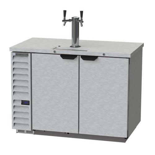 "Beverage Air DD50HC-1-S-01 50.5"" Draft Beer System w/ (2) Keg Capacity & (1) Column, Stainless, 115v"