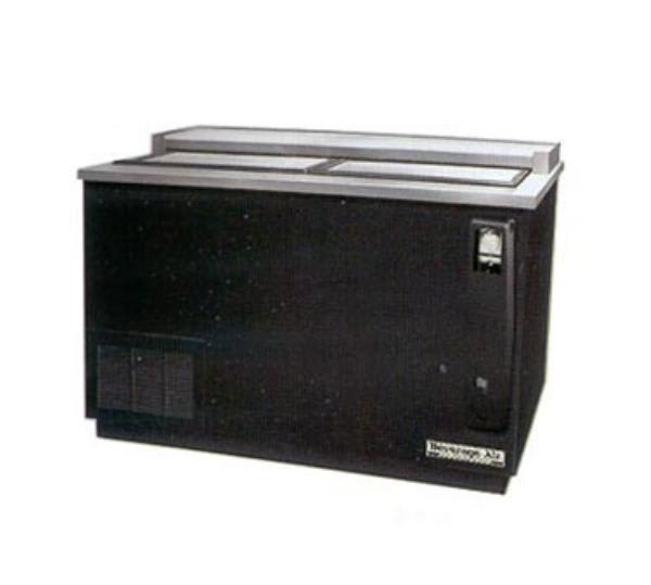 "Beverage Air DW64-S 65"" Forced Air Bottle Cooler - Holds (606) 12 oz Bottles, Opener, 115v"