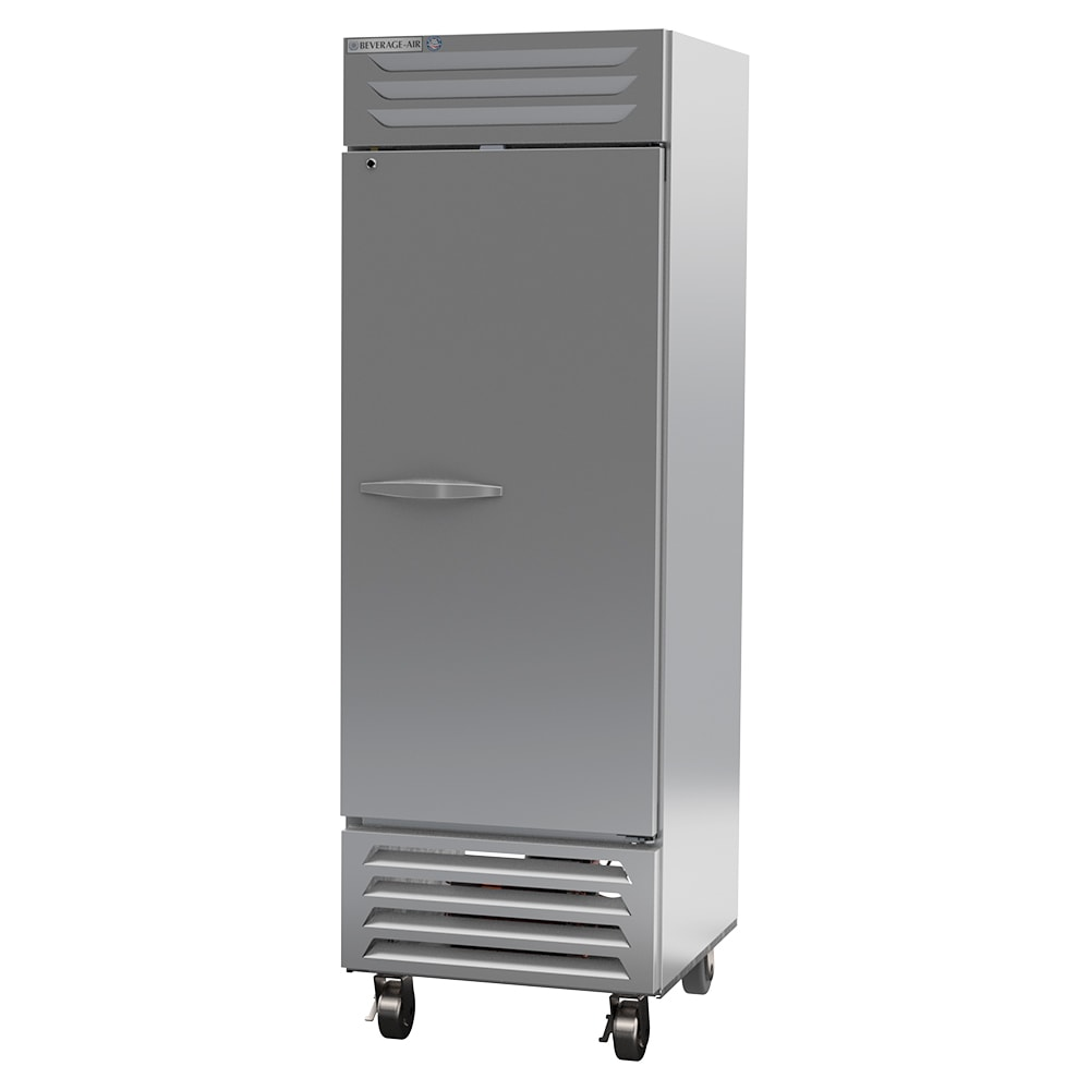 """Beverage Air FB23HC-1S 27"""" One Section Reach In Freezer, (1) Solid Door, 115v"""