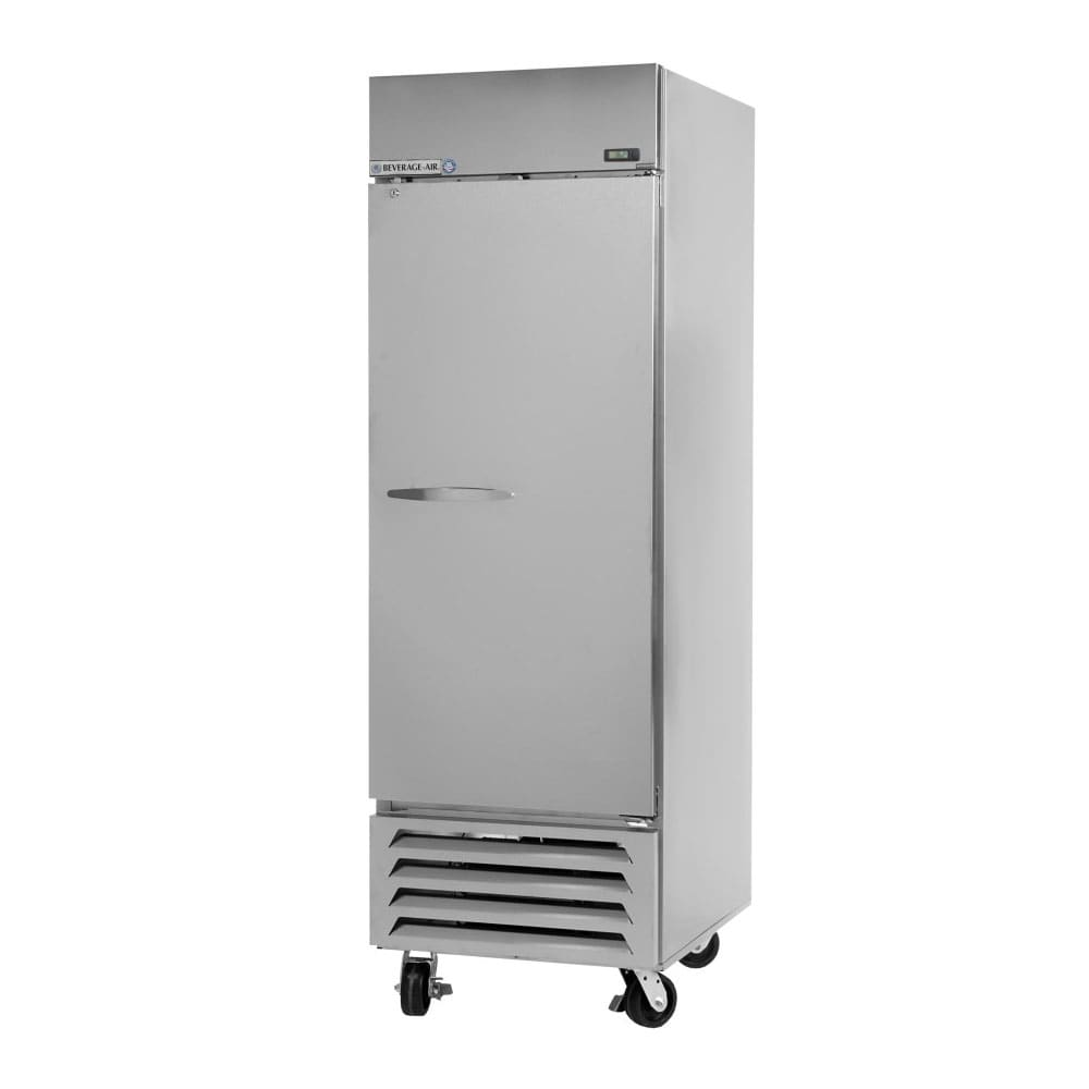 "Beverage Air FB27-1S 30"" One Section Reach-In Freezer, (1) Solid Door, 115v"