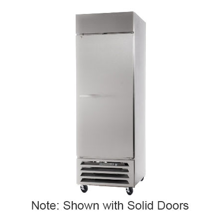 """Beverage Air HBF27-1-G 30"""" One Section Reach-In Freezer, (1) Glass Door, 115v"""