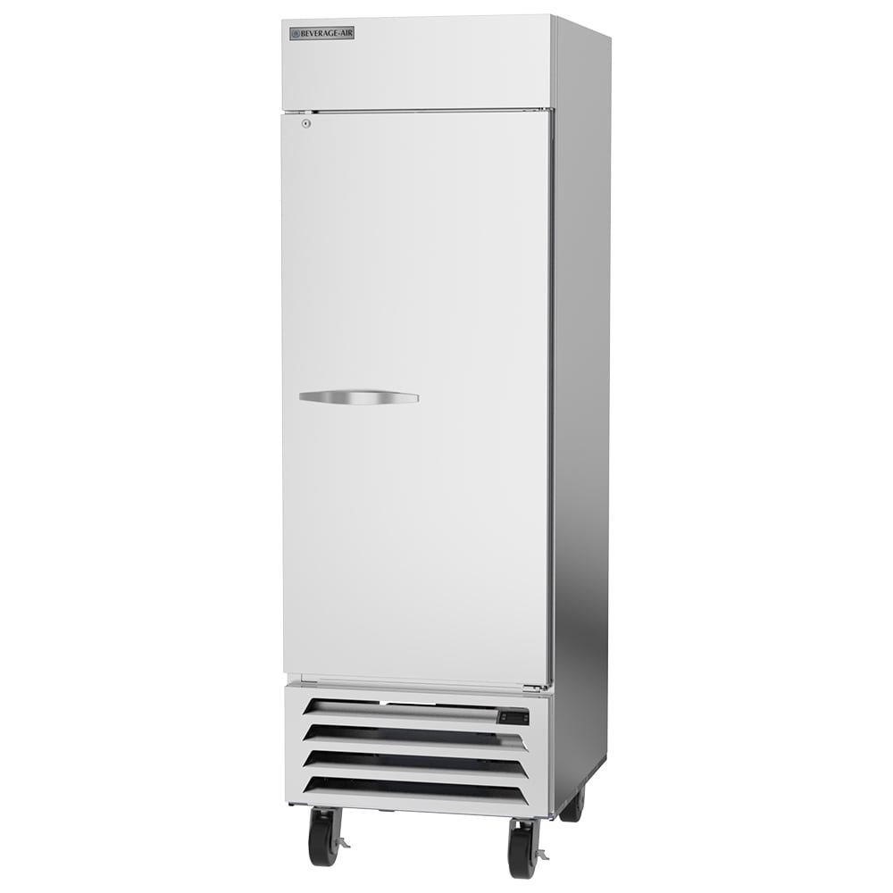 "Beverage Air HBR23HC-1 27.25"" Single Section Reach-In Refrigerator, (1) Solid Door, 115v"